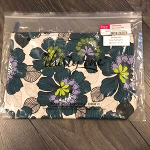 New Thirty-One Zipper Pouch Garden Party